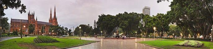 Καθορισμένο τηγάνι βροχής πάρκων Hyde Sy Στοκ εικόνες με δικαίωμα ελεύθερης χρήσης