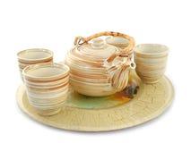 καθορισμένο τσάι Στοκ εικόνες με δικαίωμα ελεύθερης χρήσης