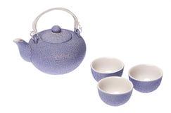 καθορισμένο τσάι στοκ φωτογραφία