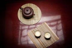 καθορισμένο τσάι Στοκ Εικόνες