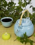 καθορισμένο τσάι Στοκ Εικόνα