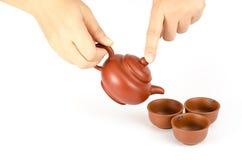 καθορισμένο τσάι Στοκ φωτογραφίες με δικαίωμα ελεύθερης χρήσης