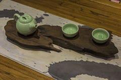 καθορισμένο τσάι Στοκ εικόνα με δικαίωμα ελεύθερης χρήσης