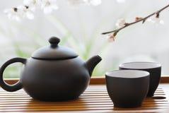 καθορισμένο τσάι Στοκ φωτογραφία με δικαίωμα ελεύθερης χρήσης