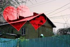 Καθορισμένο υπόβαθρο βαλεντίνων, καρδιά, αγάπη ημέρας βαλεντίνων Στοκ φωτογραφίες με δικαίωμα ελεύθερης χρήσης