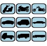 καθορισμένο όχημα εικον&iota Στοκ εικόνες με δικαίωμα ελεύθερης χρήσης