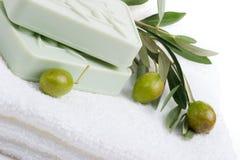 καθορισμένο soap spa Στοκ εικόνα με δικαίωμα ελεύθερης χρήσης