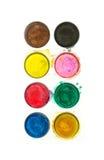 καθορισμένο watercolor Στοκ εικόνες με δικαίωμα ελεύθερης χρήσης