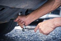 Καθορισμός ενός αυτοκινήτου Στοκ φωτογραφία με δικαίωμα ελεύθερης χρήσης