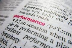 Καθορισμός λεξικών λέξης απόδοσης στοκ φωτογραφίες
