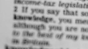 Καθορισμός λεξικών - γνώση φιλμ μικρού μήκους