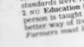 Καθορισμός λεξικών - εκπαίδευση απόθεμα βίντεο
