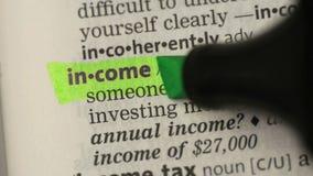 Καθορισμός του εισοδήματος απόθεμα βίντεο