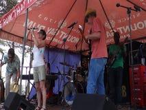 Καθορισμός του σταδίου για μια απόδοση στο Bequia απόθεμα βίντεο