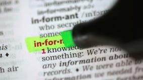 Καθορισμός των πληροφοριών φιλμ μικρού μήκους