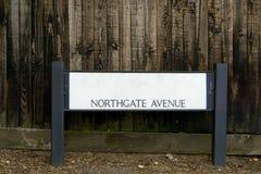 Καθοδηγήστε για τη λεωφόρο Northgate Στοκ Εικόνα