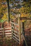 Καθοδηγήστε και πύλη Στοκ Φωτογραφίες