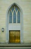 Καθολικές πόρτες εκκλησιών Στοκ Εικόνες