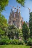 Καθολική βασιλική Sagrada Familia Στοκ Φωτογραφίες