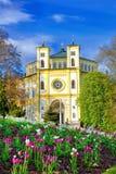 Καθολική εκκλησία σε Marianske Lazne - Δημοκρατία της Τσεχίας Στοκ Εικόνες
