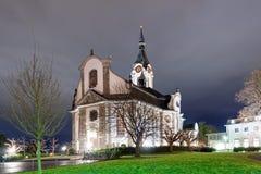 Καθολική εκκλησία στην πόλη Herbrug Στοκ φωτογραφία με δικαίωμα ελεύθερης χρήσης