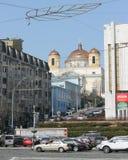 Καθολική εκκλησία στη μητρόπολη στοκ εικόνα