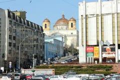 Καθολική εκκλησία στη μητρόπολη στοκ φωτογραφίες