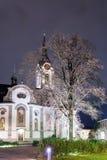 Καθολική εκκλησία στη μικρή ελβετική πόλη Στοκ Εικόνες