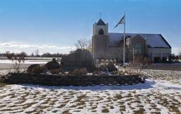 Καθολική εκκλησία του Corpus Christi Στοκ εικόνα με δικαίωμα ελεύθερης χρήσης