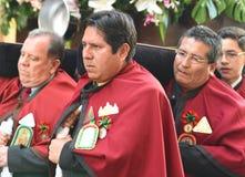 Καθολική παρέλαση Cathedral Plaza de Armas, Λίμα, Περού Στοκ Εικόνα