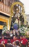 Καθολική παρέλαση Cathedral Plaza de Armas, Λίμα, Περού Στοκ φωτογραφίες με δικαίωμα ελεύθερης χρήσης