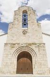 καθολική πρόσοψη εκκλησιών Στοκ φωτογραφία με δικαίωμα ελεύθερης χρήσης