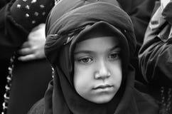 Καθολική τελετή πένθους Ashura Ημέρα Ashura Στοκ φωτογραφίες με δικαίωμα ελεύθερης χρήσης