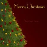 καθολικός Ιστός προτύπων σελίδων χαιρετισμού Χριστουγέννων καρτών ανασκόπησης Στοκ φωτογραφίες με δικαίωμα ελεύθερης χρήσης