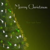 καθολικός Ιστός προτύπων σελίδων χαιρετισμού Χριστουγέννων καρτών ανασκόπησης Στοκ Φωτογραφία