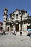 Καθολικός καθεδρικός ναός στην Κούβα Στοκ Εικόνες