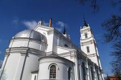 Καθολικός καθεδρικός ναός στη Λούντζα Στοκ φωτογραφία με δικαίωμα ελεύθερης χρήσης