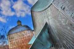 Καθολικός πίνακας ήλιων Στοκ φωτογραφίες με δικαίωμα ελεύθερης χρήσης