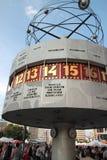 Καθολικό ρολόι του Αλεξάνδρου Platz Στοκ Εικόνες