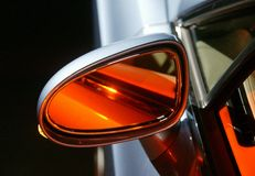 καθρέφτης αυτοκινήτων Στοκ Φωτογραφία