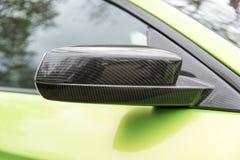 Καθρέφτης αυτοκινήτων Στοκ Φωτογραφίες