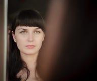 καθρέφτης βλέμματος Στοκ εικόνα με δικαίωμα ελεύθερης χρήσης