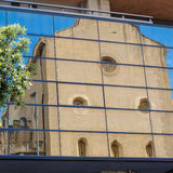 καθρέφτης εκκλησιών Στοκ Φωτογραφία