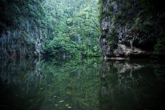 Καθρέφτης λιμνών σε Perak Στοκ Εικόνα