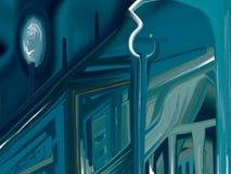 Καθρέφτης καθρεφτών Στοκ εικόνα με δικαίωμα ελεύθερης χρήσης