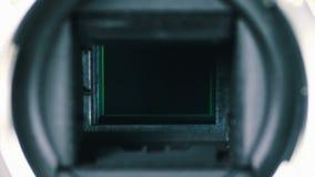 Καθρέφτης καμερών DSLR και μηχανισμός 4 παραθυρόφυλλων φιλμ μικρού μήκους