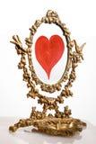 καθρέφτης παλαιός Στοκ εικόνα με δικαίωμα ελεύθερης χρήσης