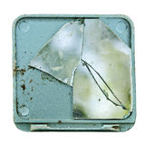 καθρέφτης που καταστρέφ&epsilo Στοκ Εικόνα