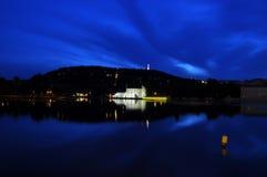 καθρέφτης Πράγα Στοκ εικόνα με δικαίωμα ελεύθερης χρήσης