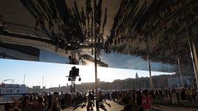 Καθρέφτης της Μασσαλίας Στοκ φωτογραφίες με δικαίωμα ελεύθερης χρήσης